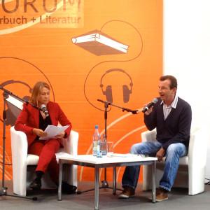 Ulrike Stürzbecher und Frank Suchland auf der Leipziger Buchmesse 2014